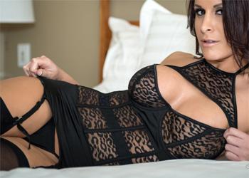 Aleah Jasmine Tight Leopard Lingerie