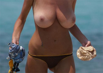 Topless Babe