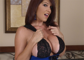 Charlee Chase Blue Teddy Boobs