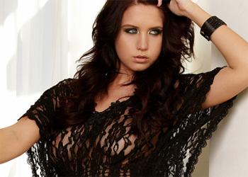 Chrissy Marie Sheer Black Lingerie
