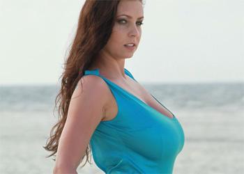 Ewa Sonnet Blue Tropical Dress