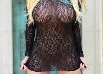 Xo Gisele Sheer Dress