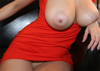 Jazmyn Red Dress BangBros