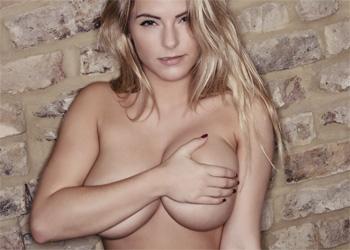 Jess Kingham Sofa Boobs