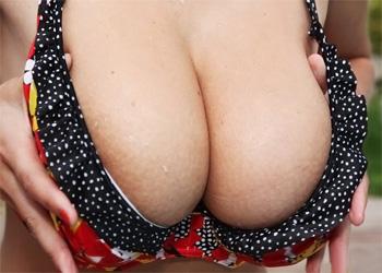 Katarina Red Bikini Big Naturals