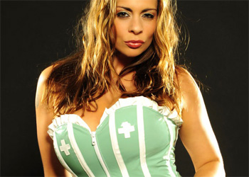 Linsey Dawn McKenzie Latex Nurse