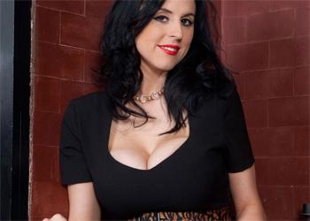 Louise Jenson Sexy Black Dress