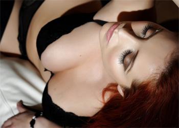 Lucy Vixen Lingerie Couch