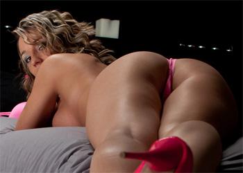 Nikki Sims Pink Heels