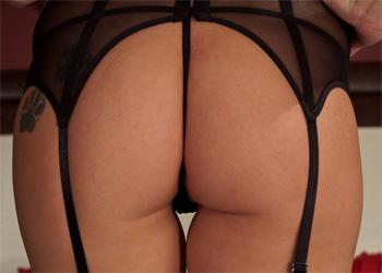 Nikki Sims Black Fishnet