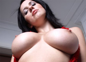 Busty In Red