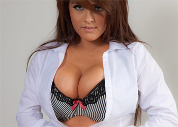 Robyn Alexandra Big Tits Office