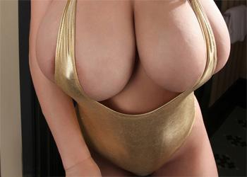 September Carrino Gold Bikini