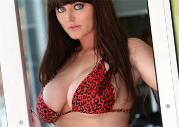 Sophie Dee Red Cheetah
