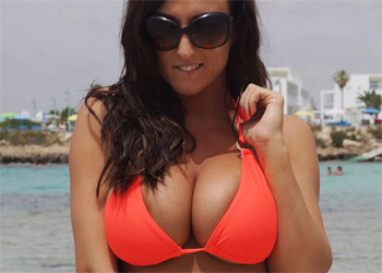 Stacey Poole Bikini Boobs