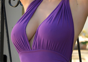 Viola O Purple Dress