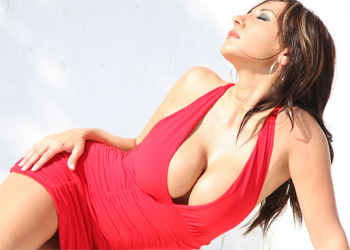 Diana Yvette Red Dress Actiongirl